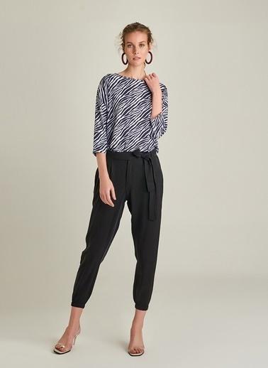 Ng Style Beli Lastikli Tencel Pantolon Siyah